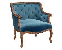 Navy Bloom Chair