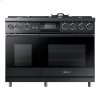 "48"" Pro Dual-Fuel Steam Range, Stainless Steel, Liquid Propane/High Altitude"