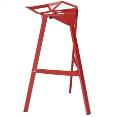 Launch Stacking Bar Stool in Red Product Image