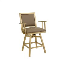 Windsor B244H26AS Swivel Back And Arms Bar Stool