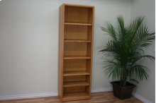 """Modern Oak 24"""" Standard Bookcase"""