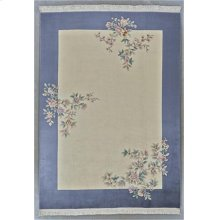"""FLORAL 000055357 IN IVORY GRAY 9'-6"""" X 13'-6"""""""