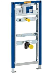 Duofix in-wall system for urinals For 2x4 or 2x6 construction 0.5 GPF Flush Volume