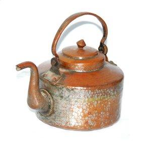 Old Copper Tea Pot