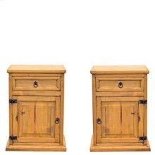 "Left : 22"" x 16"" x 30"" Mansion Nightstands"