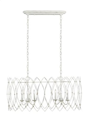 6 - Light Chandelier Product Image