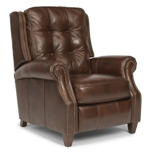 Landon Leather or Fabric Power High-Leg Recliner