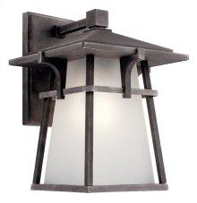 "Beckett 10.75"" 1 Light Wall Light with LED Bulb Weathered Zinc"