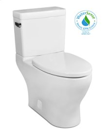 White CADENCE II Two-Piece Toilet 1.28gpf, Elongated