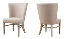 2-pack Dine Chair-sandstone Finish W/upholstered Seat & Back Beige #d4029-3 Rta