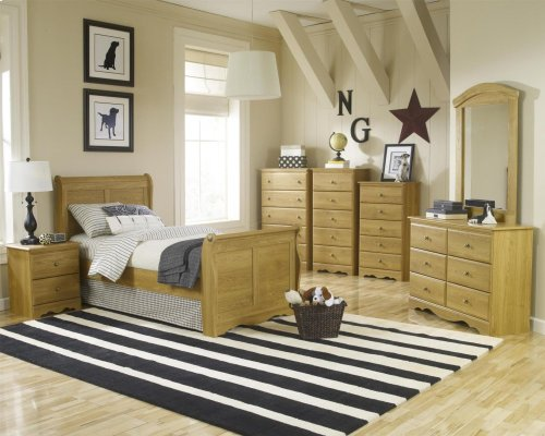 HB24 Sleigh Bed - Twin