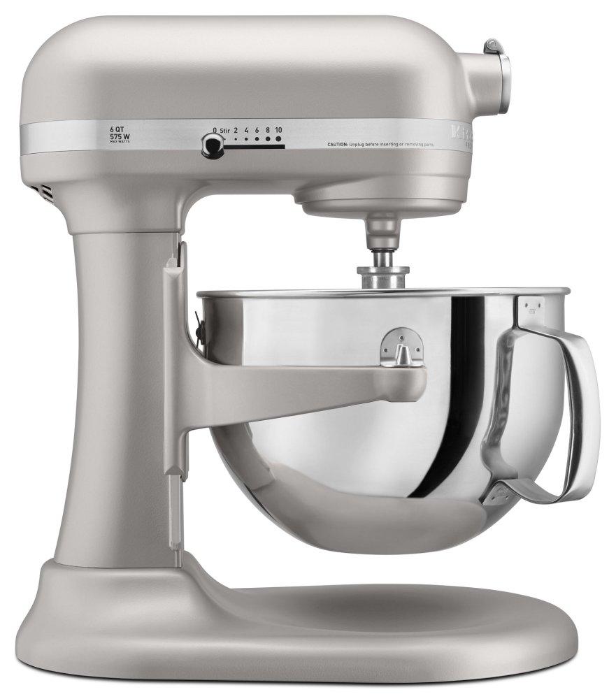 Pro 600 Series 6 Quart Bowl-Lift Stand Mixer - Nickel Pearl  NICKEL PEARL