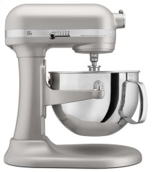 Pro 600 Series 6 Quart Bowl-Lift Stand Mixer - Nickel Pearl