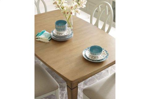 Everyday Dining by Rachael Ray Shaped Leg Table - Nutmeg