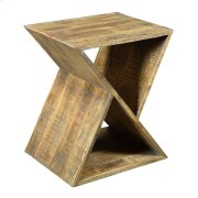 Bengal Manor Mango Wood Angled End Table Product Image