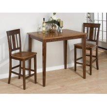 Kura Canyon Table & 2 Slat Back Chairs