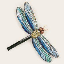 Metal Mosaic Dragonfly