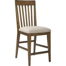 Winslow Park Upholstered Seat Counter Stool