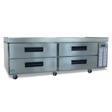 Refrigerator, Two Section Equipment Stand with Drawers