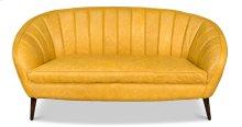 Ochre Yellow Seashell Sofa