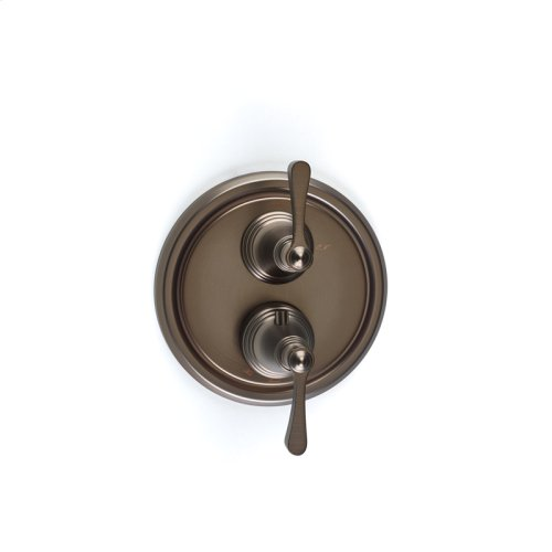 Dual Control Thermostatic With Volume Control Valve Trim Berea Series 11 Bronze