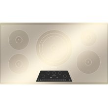CIT365GM Masterpiece 36 Induction Cooktop Silver Mirrored Finish