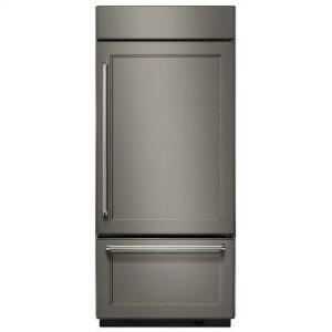 "KITCHENAID20.9 Cu. Ft. 36"" Width Built-In Panel Ready Bottom Mount Refrigerator"