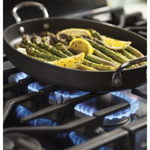 """GE Profile™ 30"""" Free-Standing Gas Double Oven Convection Range"""