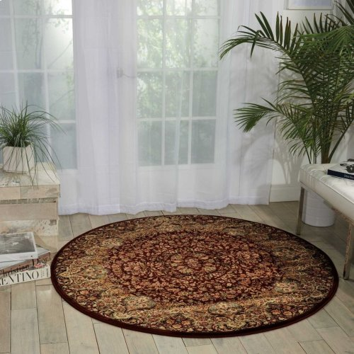 Kathy Ireland® Home Antiquities Ant05 Burgundy