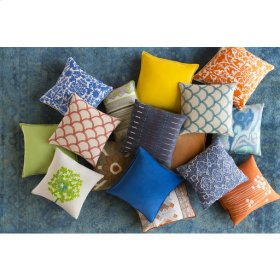 "Ara AR-075 22"" x 22"" Pillow Shell with Polyester Insert"