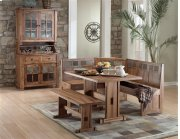 Sedona Breakfast Nook, Table & Bench Product Image