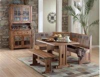 Sedona Breakfast Nook Set W/side Bench