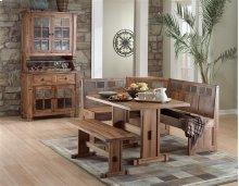 Sedona 4-Piece Breakfast Nook Set W/side Bench