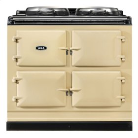 Cream AGA Dual Control 3-Oven Natural Gas