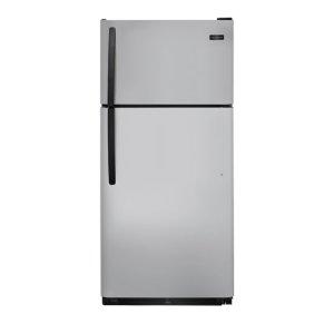 18 Cu. Ft. Top Freezer Refrigerator - SILVER MIST
