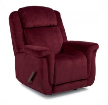 Updraft Fabric Swivel Gliding Recliner