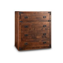 Saratoga 4 Drawer Hiboy Chest