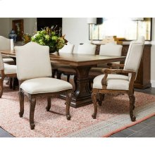 Thoroughbred Curlin Upholstered Side Chair - Toast