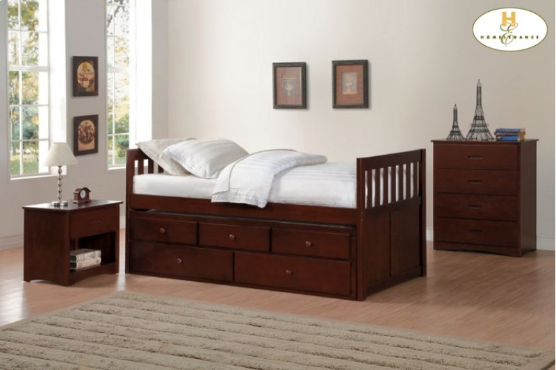 B2013PRDC1 in by Homelegance in Orange, CA - Twin/Twin Trundle Bed ...