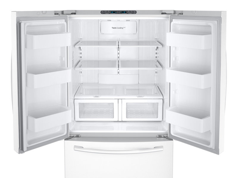 Rf26hfendww Samsung 26 Cu Ft French Door Refrigerator With Twin