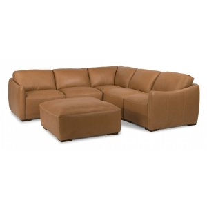 FLEXSTEELMorgan Leather Sectional