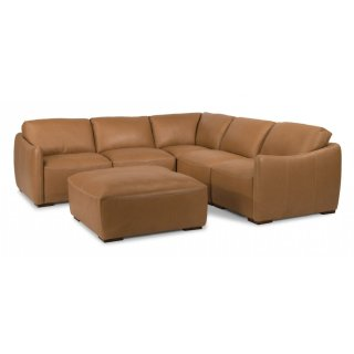 Morgan Leather Sectional