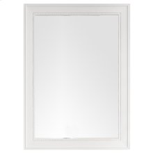 "Bristol 29"" Rectangular Mirror, Bright White"