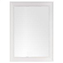"""Bristol 29"""" Rectangular Mirror, Bright White"""