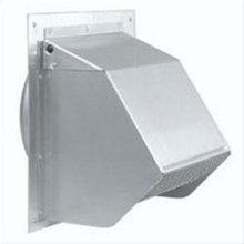 """Fresh Air Inlet Wall Cap for 6"""" Round Duct for Range Hoods"""