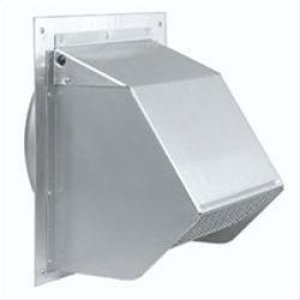 "BestFresh Air Inlet Wall Cap For 6"" Round Duct For Range Hoods"