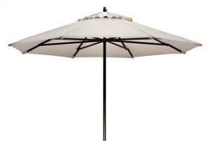 9' Powdercoat Aluminum Commercial Market Umbrella
