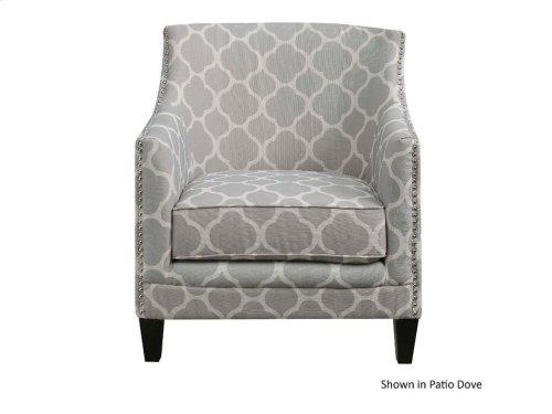 ELEMENTS UDH705100 Dinah Dove Accent Chair
