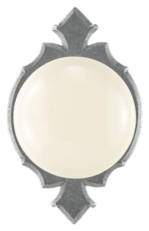 Knob on rosette set - Privacy trim set