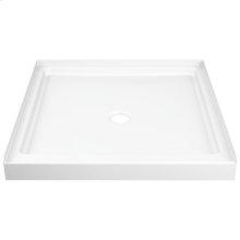 """White ProCrylic 36"""" x 36"""" Shower Base"""
